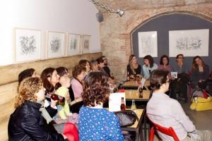 Asistentes a la presentación de las 19 horas :: Foto de Cristian Castellana