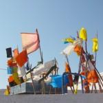 banderas de plastico ::  lefthandrotation @Flickr