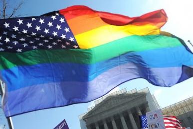 Bandera Gay USA