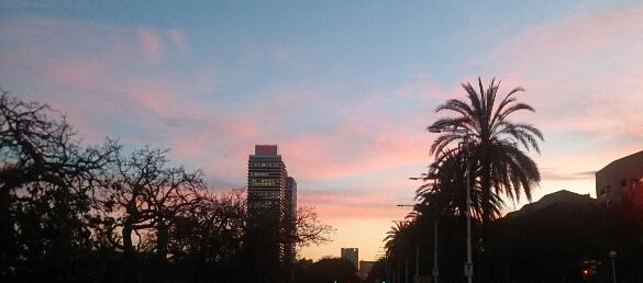 Esta es la última imagen que tomé antes de abandonar, tras once años, la Barcelona que fue mi casa.