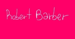 Robert Barber Article